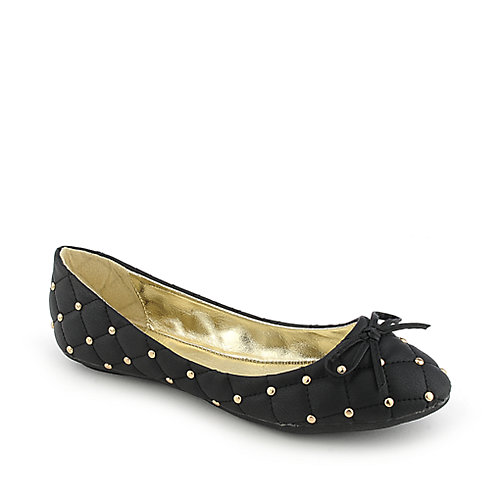 Shiekh Licana-2-S black casual flat slip on shoe