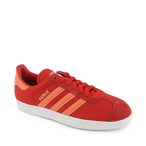 Adidas Gazelle II red athletic lifestyle sneaker