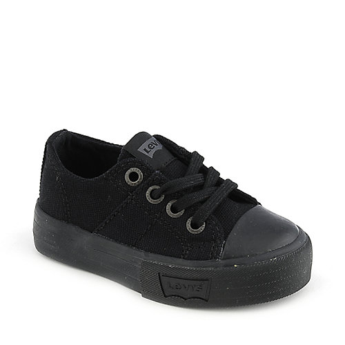 Levi's Stan kids black toddler shoe