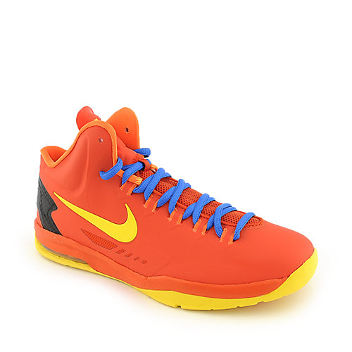 Nike KD V (GS) orange youth athletic basketball sneaker