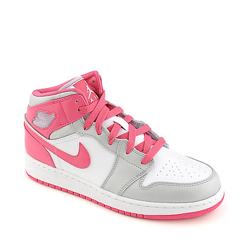 Jordan Girls Air Jordan 1 Mid (GS) kids shoes