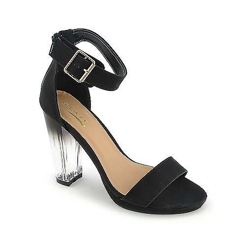 Glaze Solar-1 black high heel dress shoe