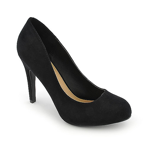 Anna Foret Nadia-01 black high heel pump