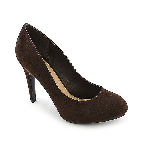 Anna Foret Nadia-01 brown high heel pump