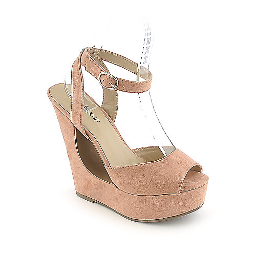 Breckelle's Monroe-01 womens dress platform wedge