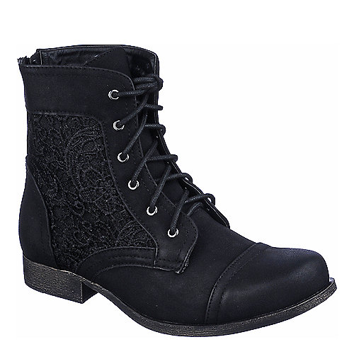 Shiekh Prima-01 womens black ankle boots