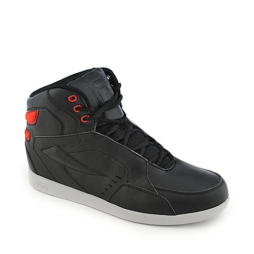 Fila Jamball V2 black and red athletic sneakers
