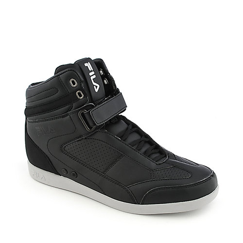 Fila Hi Profile black athletic lifestyle sneaker