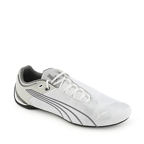 Puma Mens Future Cat M2 Grap white athletic lifestyle sneaker