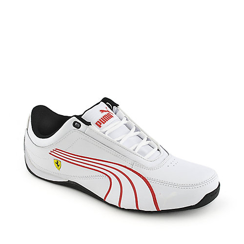Puma Drift Cat 4 white athletic lifestyle running sneaker