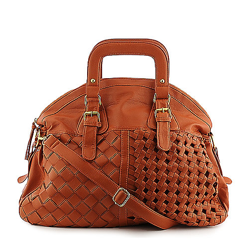 Yoki Weave Bag orange shoulder bag hobo