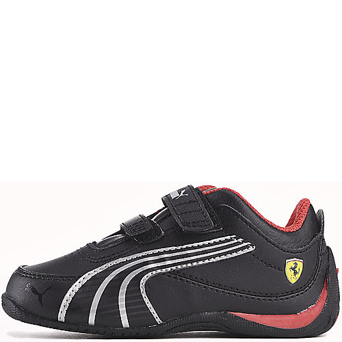 fc5ffbd0face Puma Black Toddler Drift Cat 4 Ferrari Velcro Sneaker