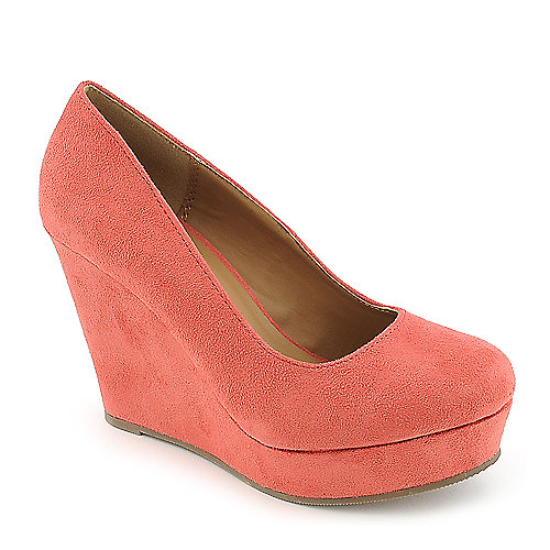 Shiekh Beer-S pink platform wedge pump