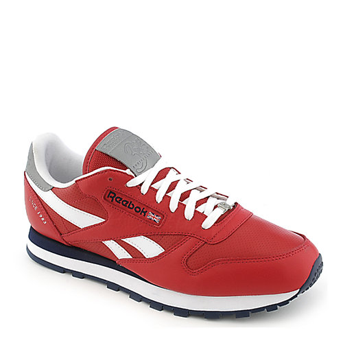 Reebok Classic Leather Reflect red athletic lifestyle sneaker