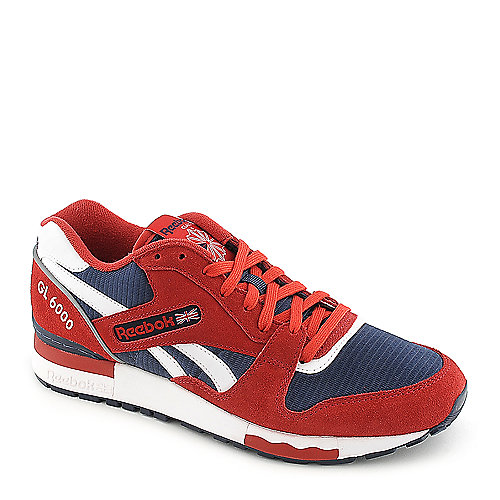 Reebok GL 6000 red athletic running sneaker