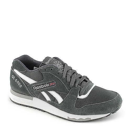 cb4b2d2e445 Reebok GL 6000 grey athletic running sneaker