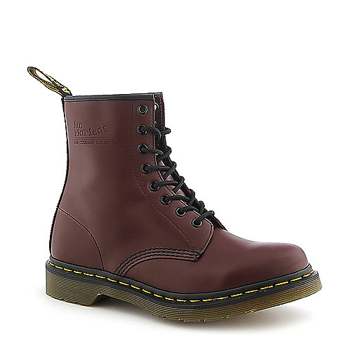 Dr. Martens Womens 1460 oxblood low heel combat boot