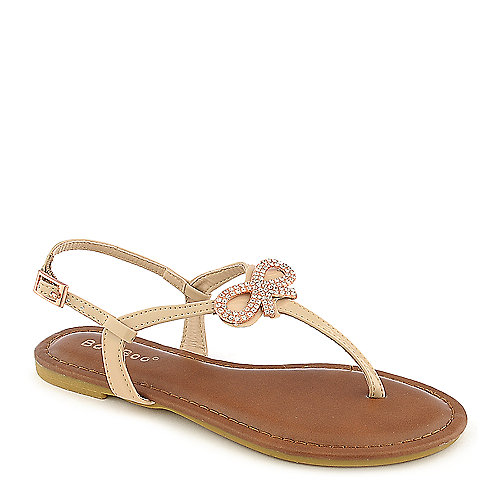 Bamboo Madalyn-08K kids nude sandal