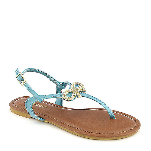 Bamboo Madalyn-08K kids flat sandal