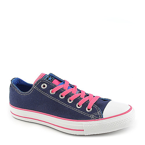 Converse Chuck Taylor Ox Women s Denim Casual Lace-up Sneaker ... d2db90521