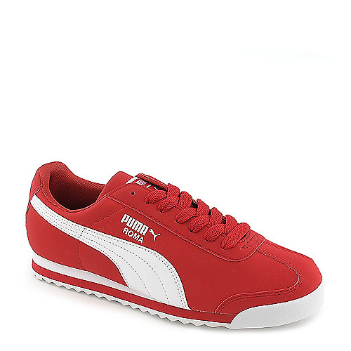 8ea851762699 Puma Roma SL mens red nubuck athletic lifestyle sneaker