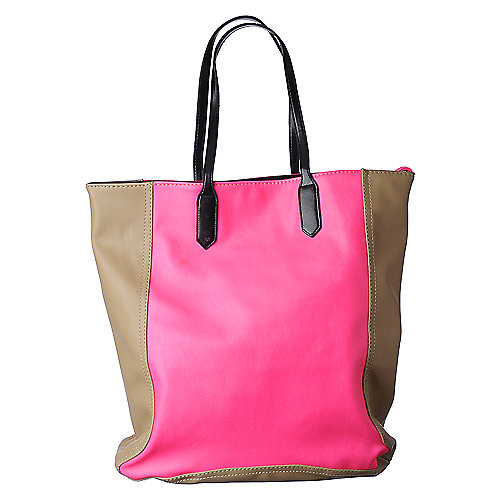 NuG Block Tote womens accessories handbags
