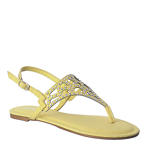 Bamboo Cope-09 womens flat jeweled thong sandal