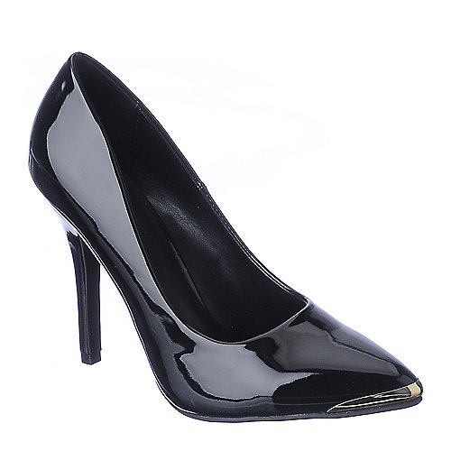 Shiekh Daber-S black PU high heel pump dress shoe