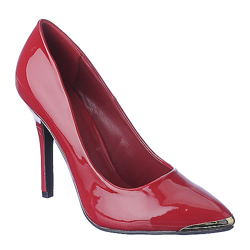 Shiekh Womens Daber-S red high heel pump dress shoe