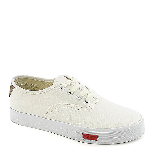 Kids Levi's Rula White Canvas Sneaker at Shiekh Shoes