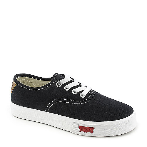 Kids Levi's Rula Black Canvas Sneaker at Shiekh Shoes