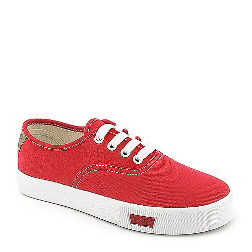 Kids Levi's Rula RedCanvas Sneaker at Shiekh Shoes