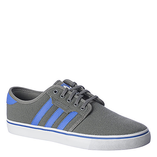 Adidas Seeley grey and blue lifestyle skate sneaker