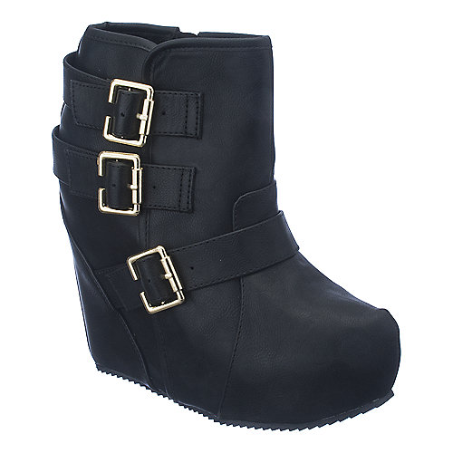 Shiekh Besso-S womens platform ankle wedge boot