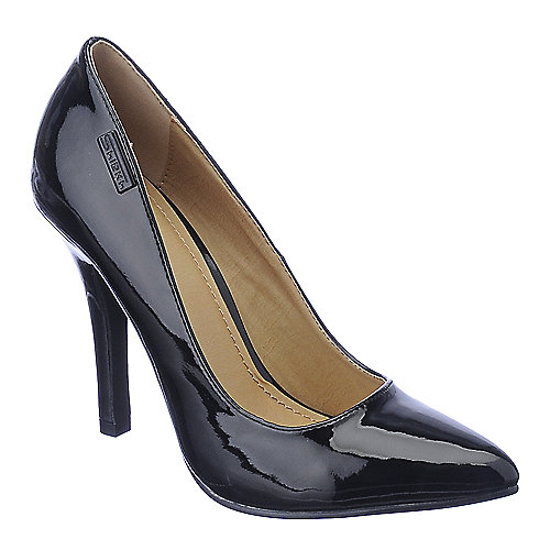 Shiekh Mellina black high heel dress shoes