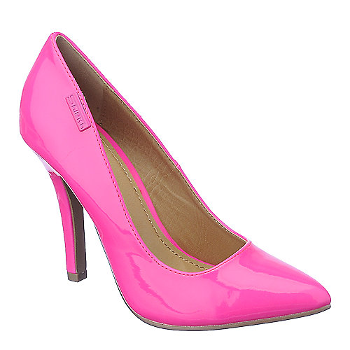 Shiekh Mellina fuschia high heel dress shoes