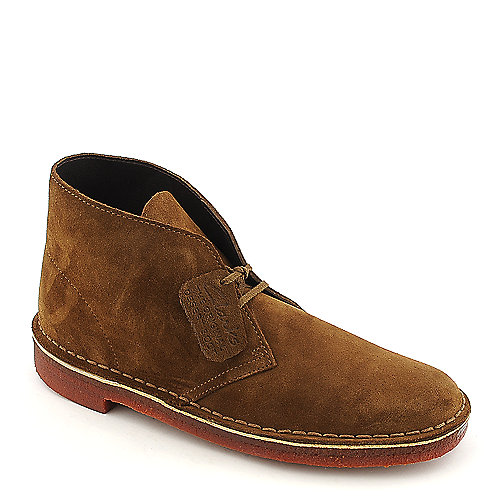 519ace97c Clarks Desert Boot mens tobacco casual boot