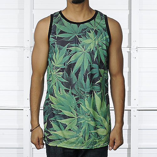 Shiekh Weed mens apparel tank top