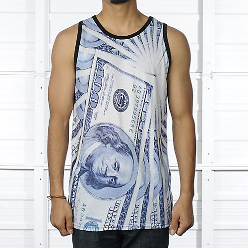Shiekh Money Sublimated mens apparel Tank Top
