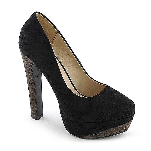 Speed Limit 98 Cup-S navy platform color block high heel pump