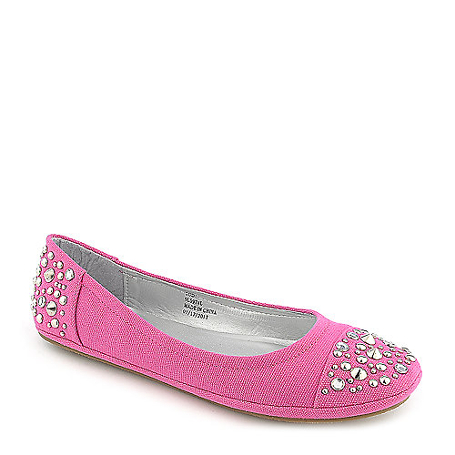 Soda Nordic-S fuschia casual flat slip on shoe