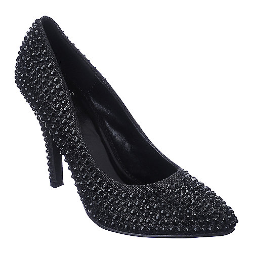 Shiekh Verona-02 black high heel dress shoe