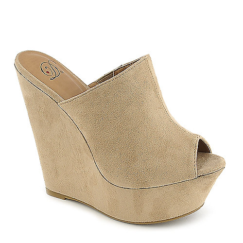 Delicious North-S platform wedge dress shoe
