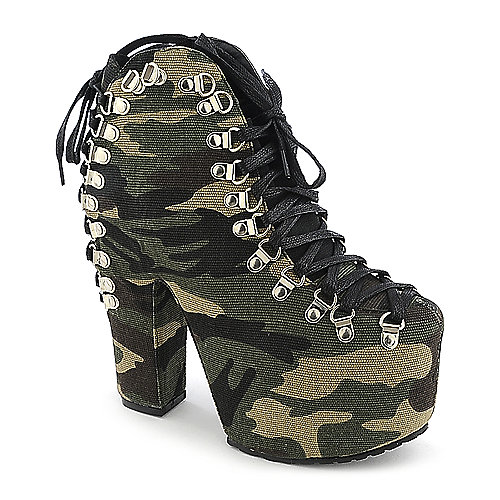 Privileged Tune Up womens high heel platform ankle boot