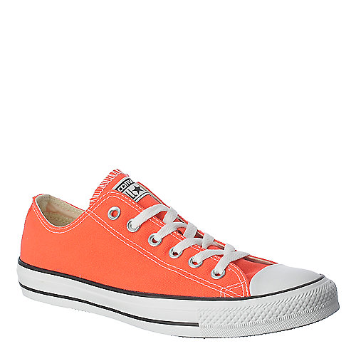 Converse Womens All Star Lo coral lace up casual sneaker