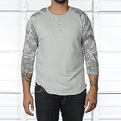 Legacy Edition Camo Raglan Baseball shirt mens apparel shirts