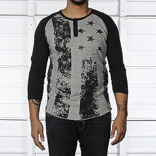 Legacy Edition Raglan Flag Shirt mens apparel