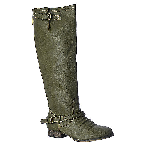 Breckelle's Outlaw-81 green knee high riding boot
