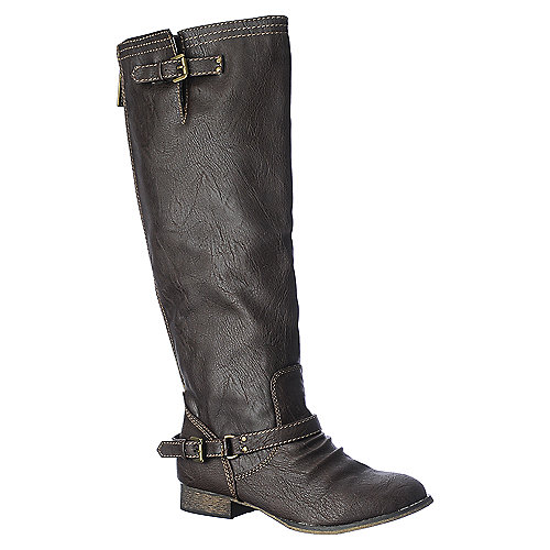 Breckelle's Outlaw-81 brown knee high riding boot