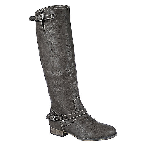 Breckelle's Outlaw-81 taupe knee high riding boot